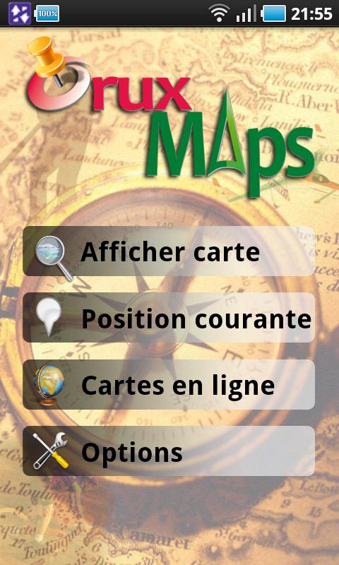 cartes ign oruxmaps
